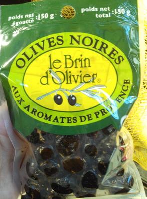 Olives noires aux aromates de Provence - Product