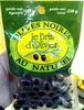 Olives Noires au naturel - Produit