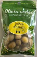 Olives vertes dénoyautées - Product - fr