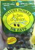 Olives noires de pays - Produit