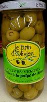 Olives vertes farcies à la pulpe de citron - Product