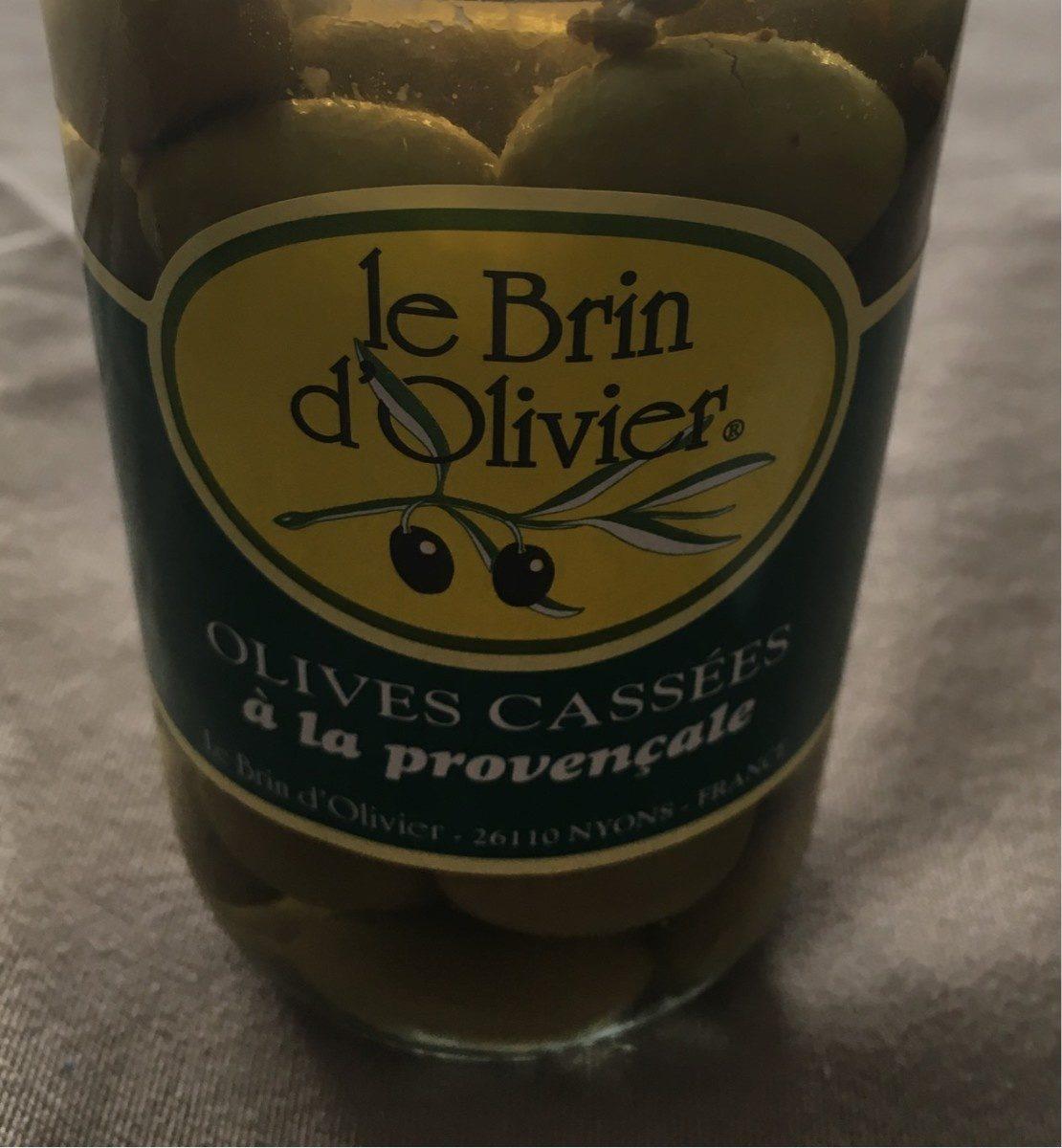 Olives cassées à la provençale - Product