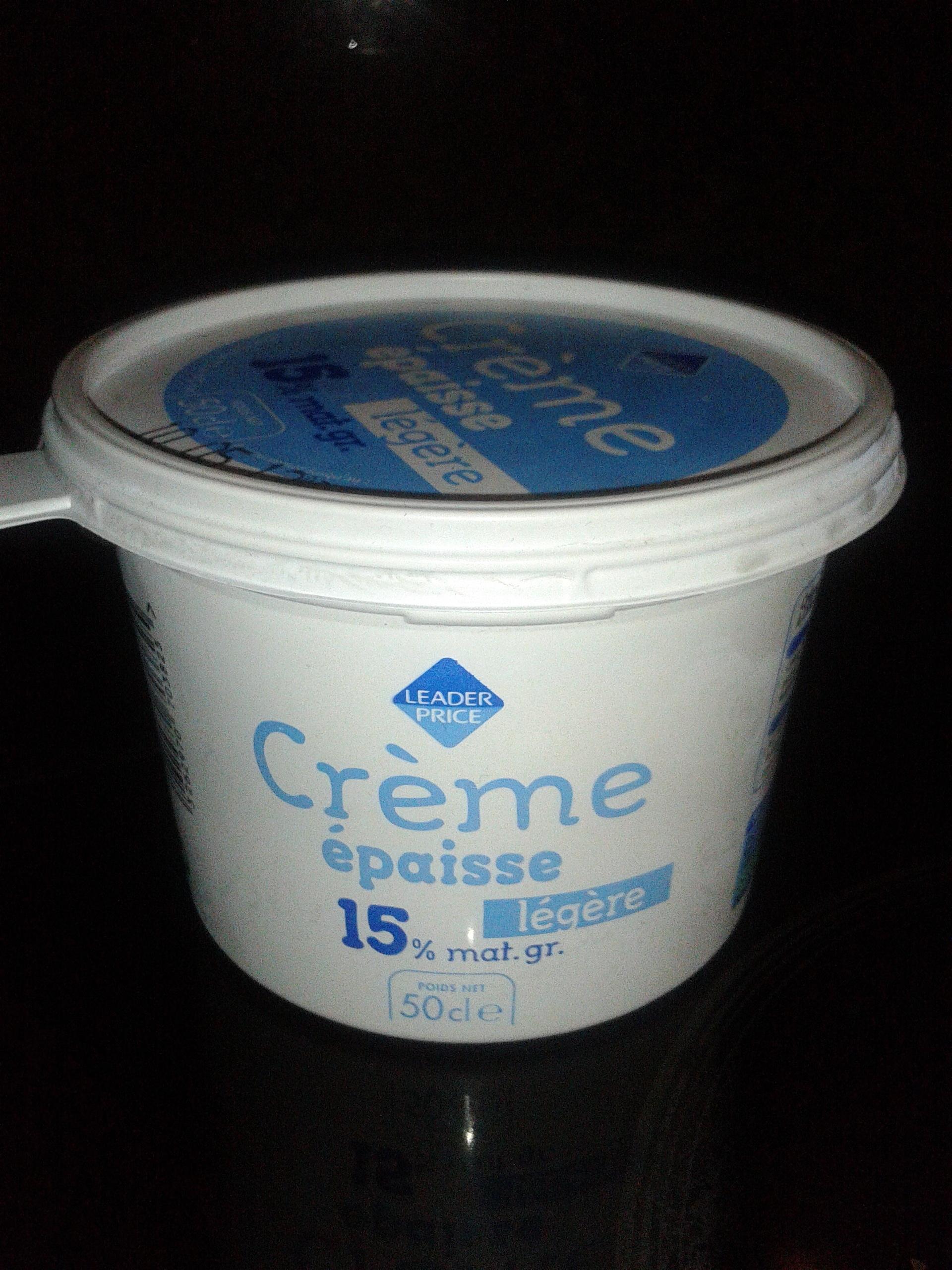 Crème épaisse légère - Product - fr