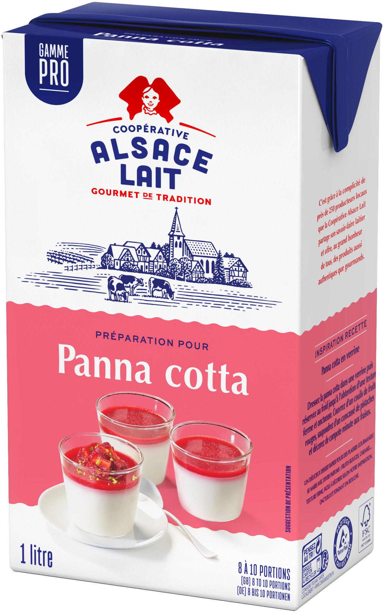 Préparation pour Panna cotta - Product - fr