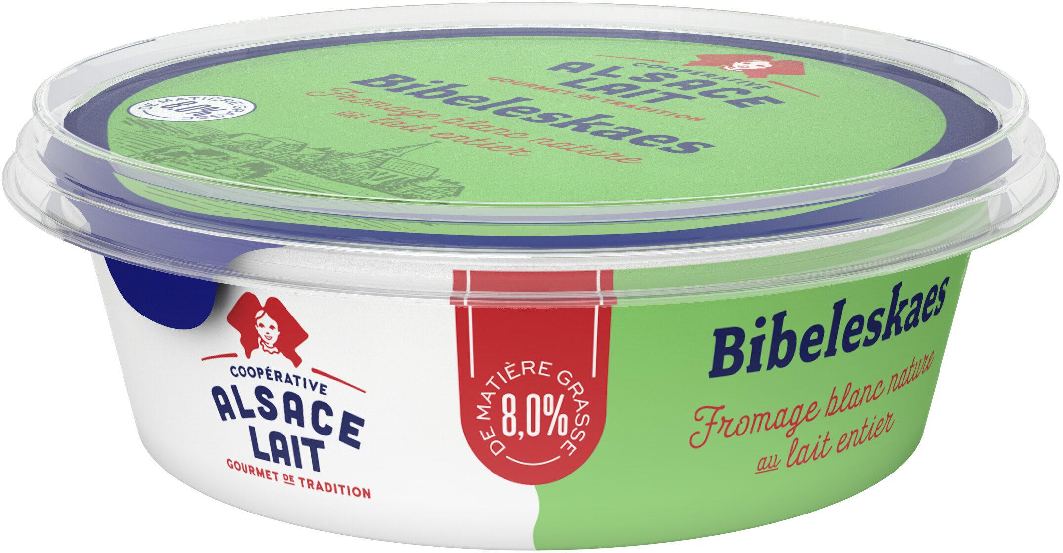 Fromage blanc nature - Bibeleskaes - Produit - fr