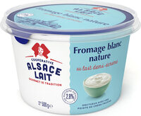 Fromage blanc nature 2,8% MG - Produit - fr