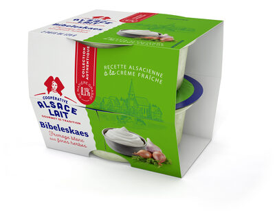 Fromage Blanc aux fines herbes - Bibeleskaes - Product
