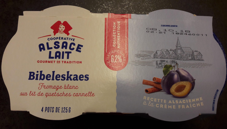 Fromage Blanc sur Lit de Quetsches Cannelle - Produit