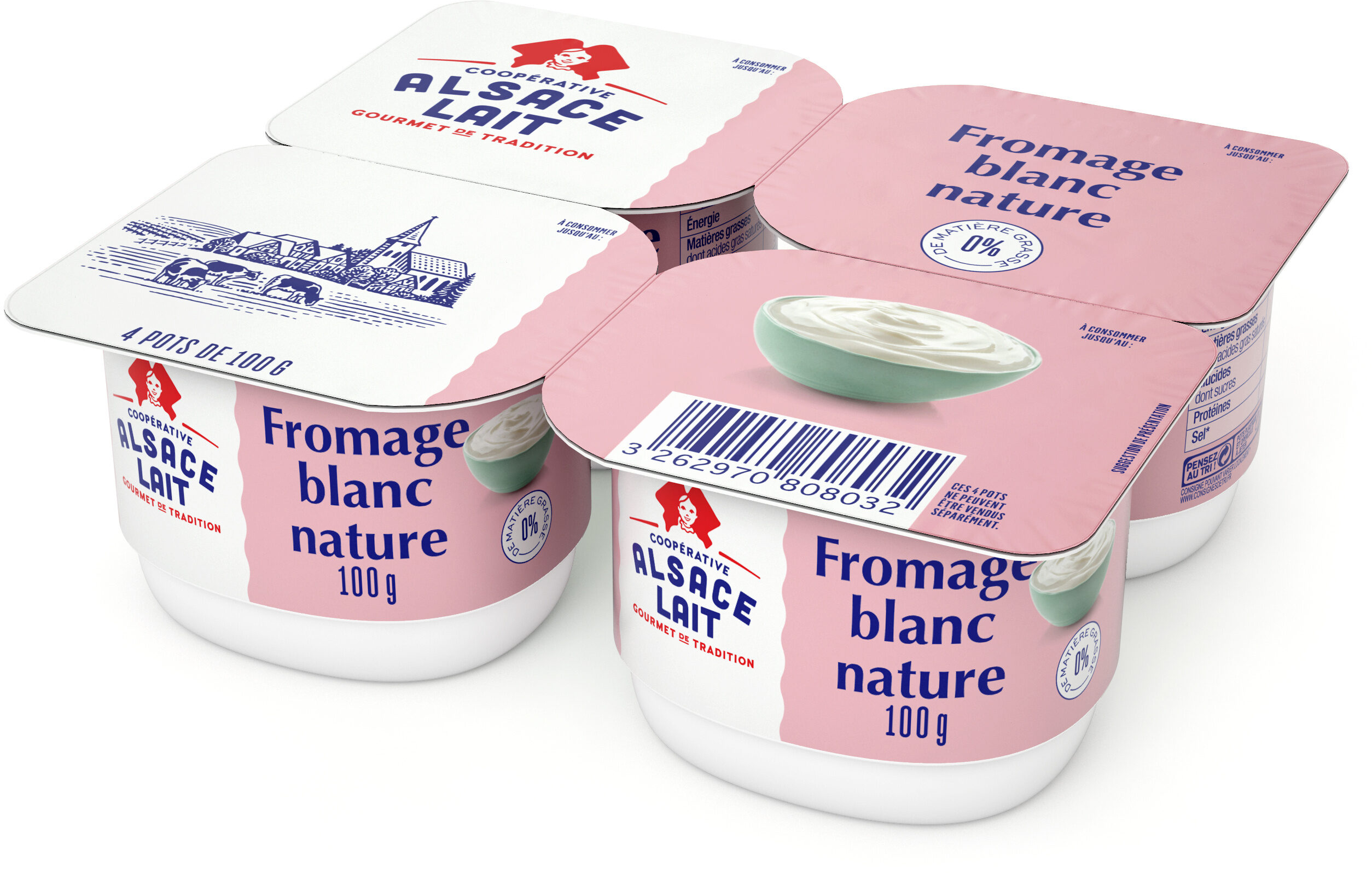 Fromage Blanc 0 % Nature - Produkt - fr
