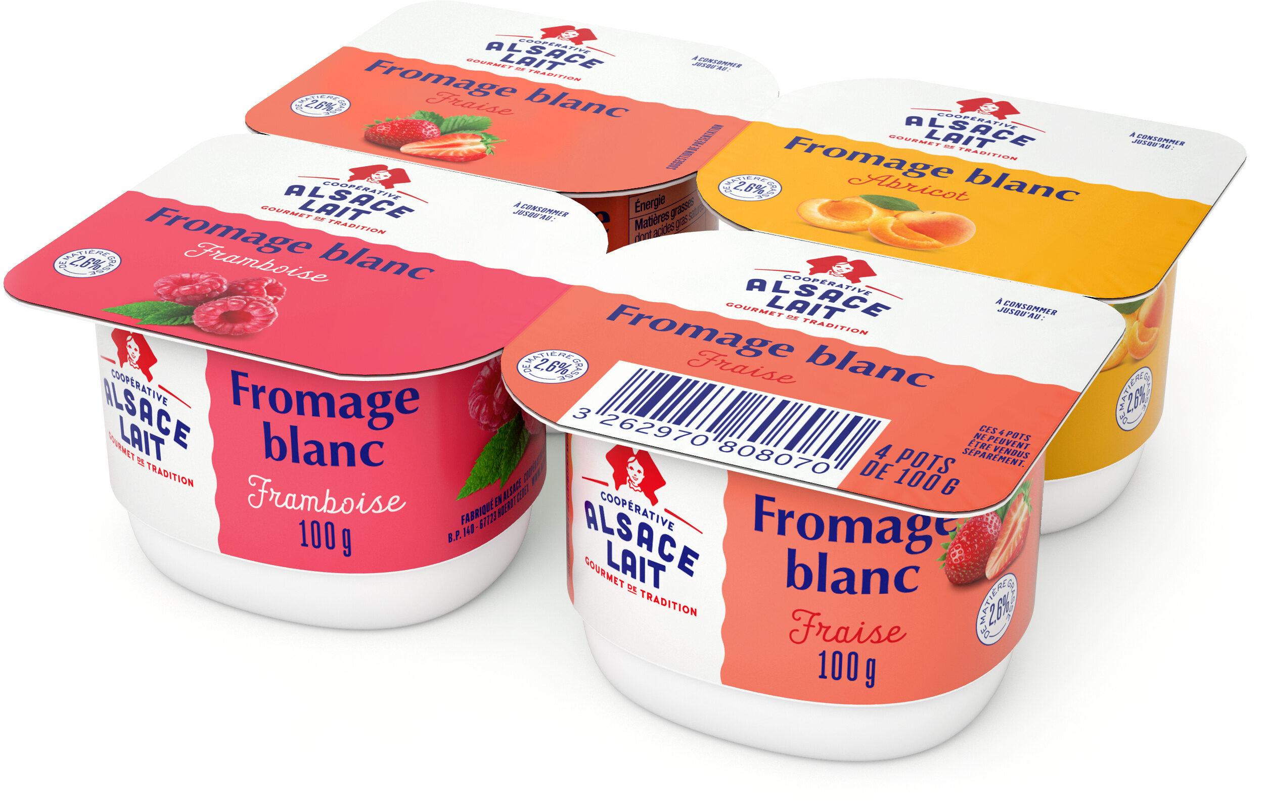 Fromage Blanc aux Fruits - Produit - fr