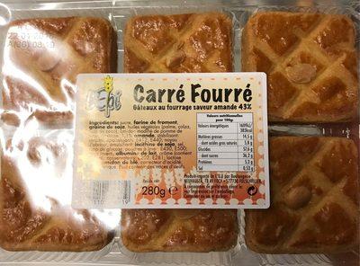 Gâteau carré fourré - Product