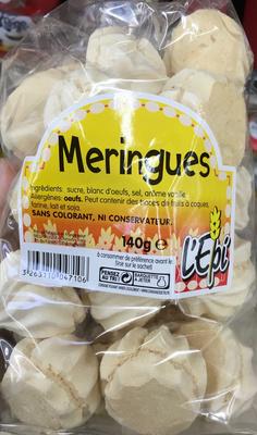 Meringues - Product - fr