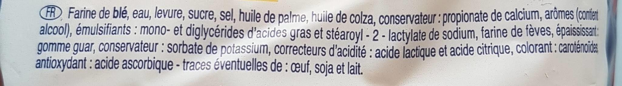 Pain de Mie en tranches - Ingrediënten - fr