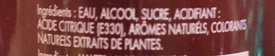 Rhabarber Erdbeere Liqueur - Ingrédients - de