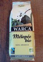 Café moulu Mélopée bio Warca 250g - Product