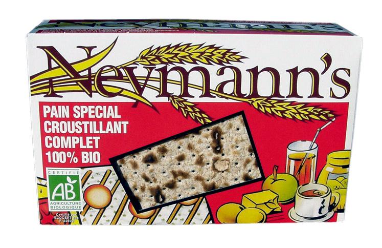 Neymann's Pain spécial croustillant complet 100% bio - Produit - fr