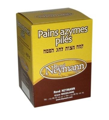 Pains azymes pilés René Neymann - Produit