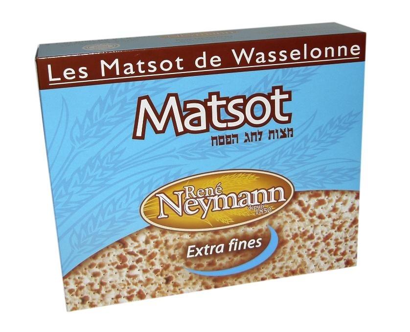 Les Matsot de Wasselonne Extra fines 450g - Product - fr