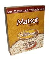Les Matsot de Wasselonne à la farine complète - Produit - fr