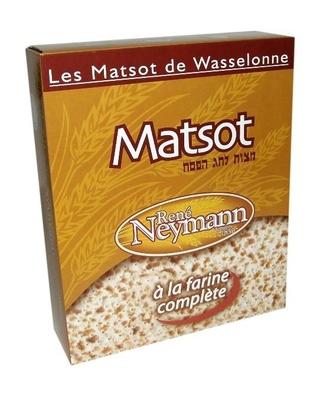 Les Matsot de Wasselonne à la farine complète - Produit