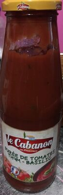 Purée de tomates thym -basilique - Produit - fr