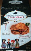 Galettes de pommes de terre de l'oncle Hansi - Produit - fr