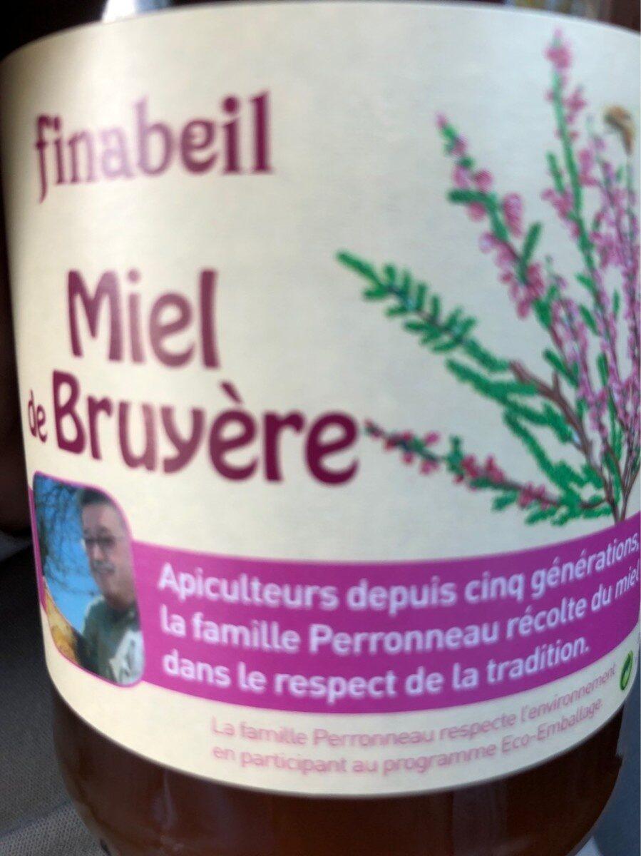 Miel Bruyère 500G - Product - en