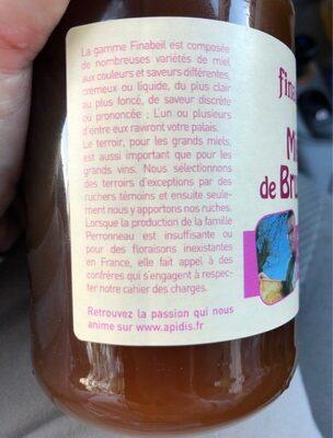 Miel Bruyère 500G - Ingredients - en