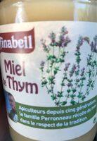 Miel de thym - Product - fr