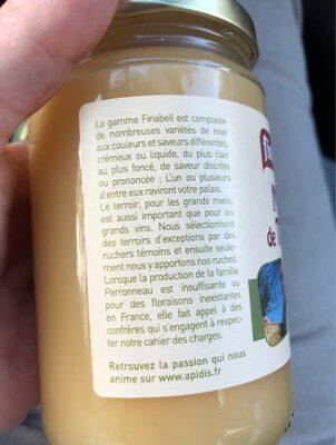 Miel de thym - Ingrediënten - fr