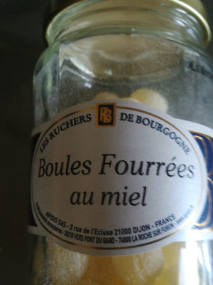 Bonbons boules fourrees au miel Bonbons dur naturel au - Product - fr