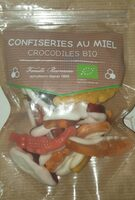 Confiseries au miel crocodiles bio - Product - fr