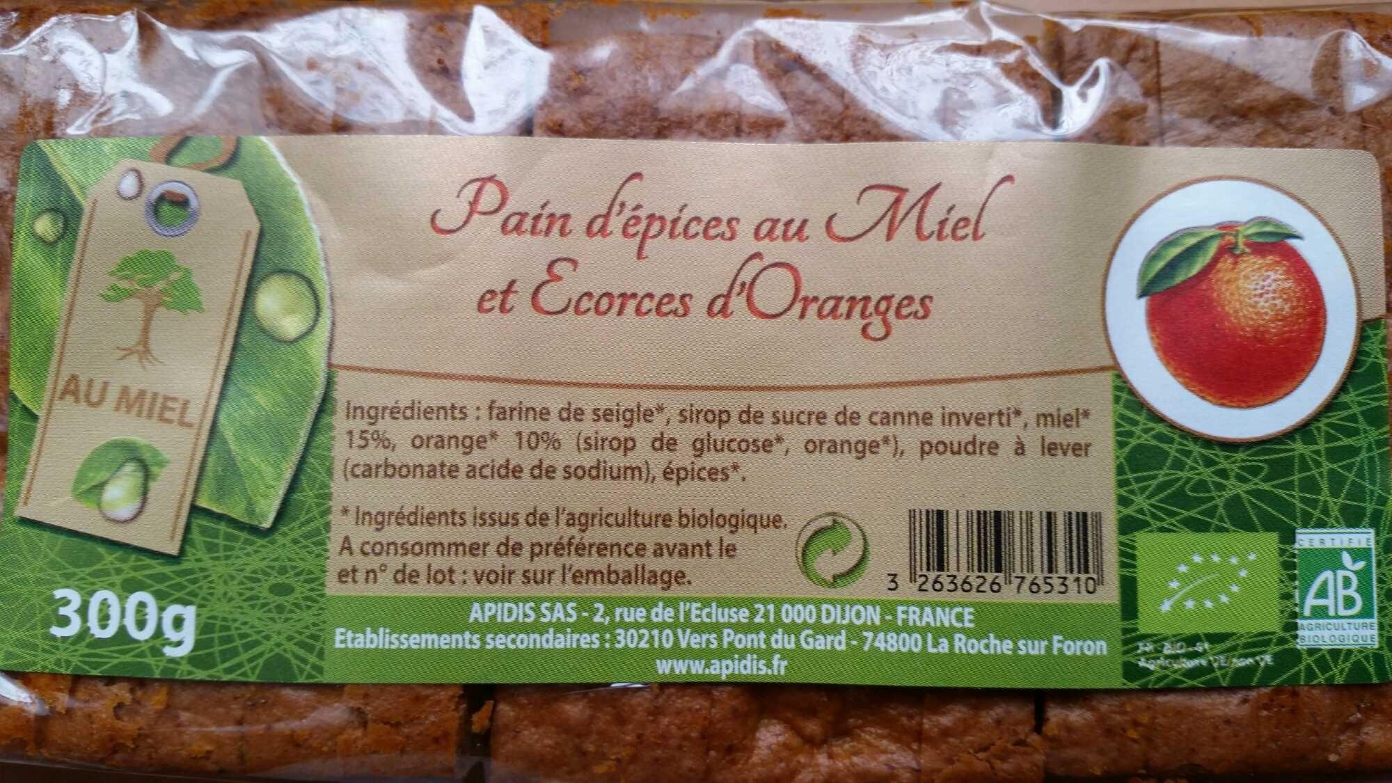 Pain d'épices au miel et écorces d'oranges - Product - fr