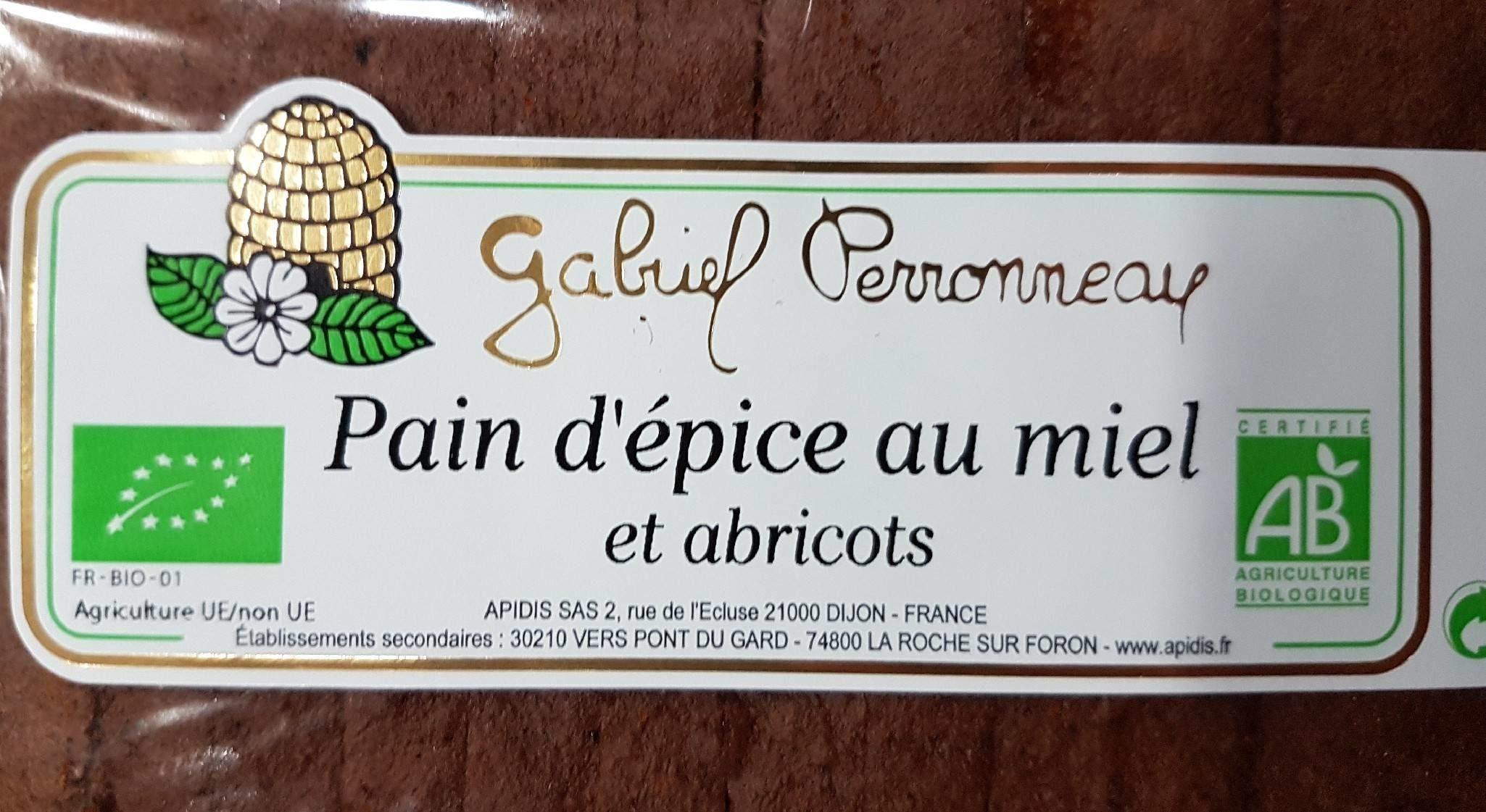 Pain d'épice au miel et abricot - Produit - fr