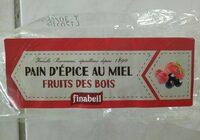 Pain D'épice Tranché Fruits Bois 300G - Product - fr