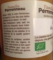 Miel des alpes - Ingredients