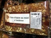 pain d'épices au miel à l'ancienne - Produit