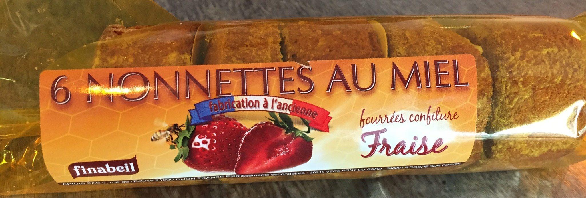 Nonnettes Fourrées Fraise - Produit - fr