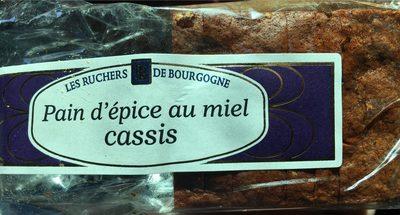 Pain d'épice au miel cassis - Produit - fr