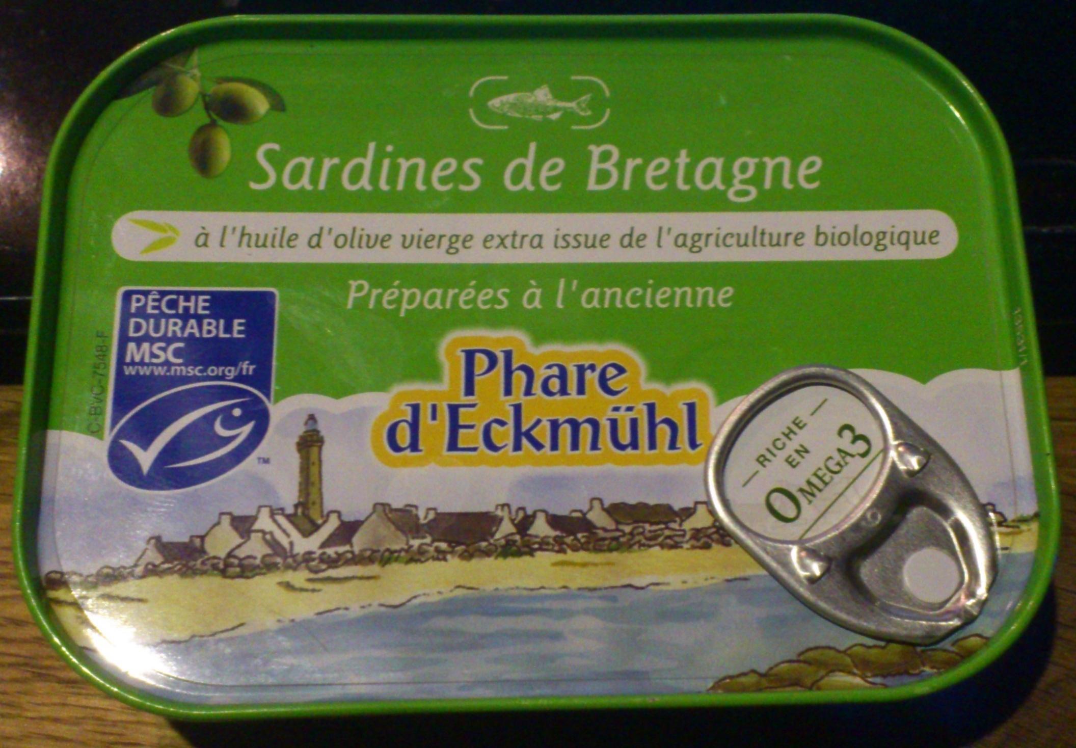 Sardines de Bretagne - Produit - fr