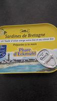 Sardines de Bretagne à l'huile d'olive et citron - Product