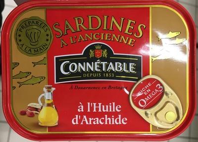 Sardines à l'Ancienne à l'Huile d'Arachide - Produit - fr