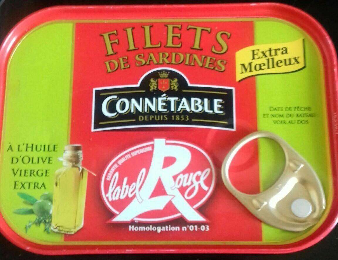 Filets de sardines label rouge - Prodotto - fr