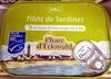 Filets de Sardines à l'huile d'olive vierge extra bio - Product