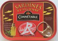 Sardines à l'Ancienne à l'Huile d'Olive vierge extra (Label Rouge) - Produit
