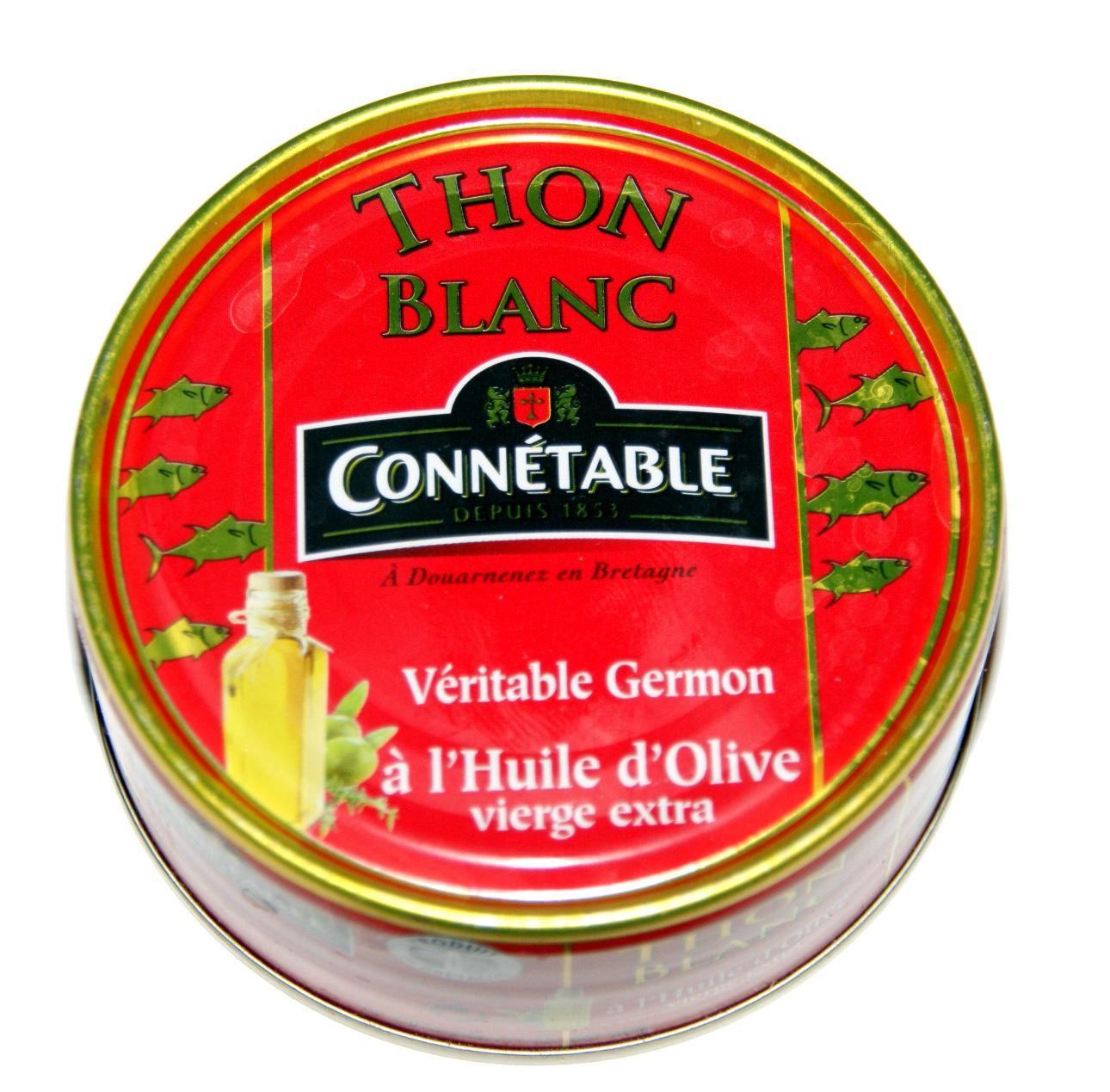 Thon Blanc (Véritable Germon) à l'Huile d'Olive vierge extra - Produit