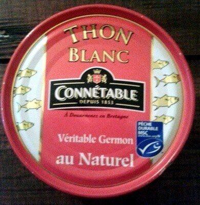 Thon Blanc (Véritable Germon) au Naturel - Prodotto - fr