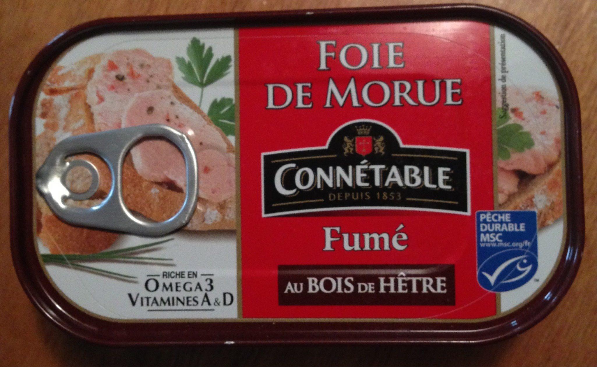 Foie de morue fumé au bois de hêtre - Product