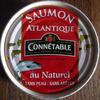 Saumon Atlantique au Naturel sans Peau sans arêtes - Produit