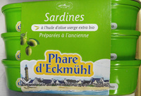 Sardines à l'huile d'olive vierge extra bio - Product